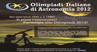 OLIMPIADI DI ASTRONOMIA - FASE INTERREGIONALE